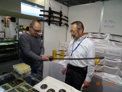Wystawa broni i uzbrojenia Samurajów Tokyo